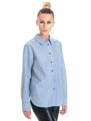 Chaton Striped shirt Blue