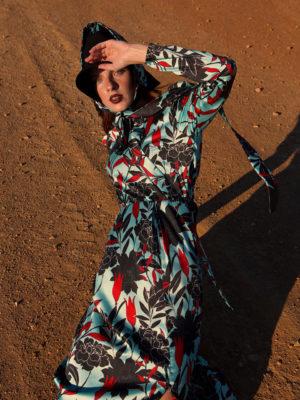 Ananke Isidore Puff Sleeve Dress