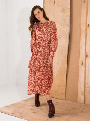 Ananke Jeanine Long Sleeve Dress