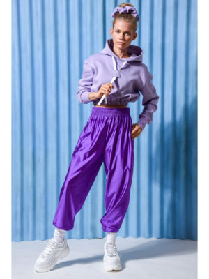Arpyes Diamond Cropped Violet