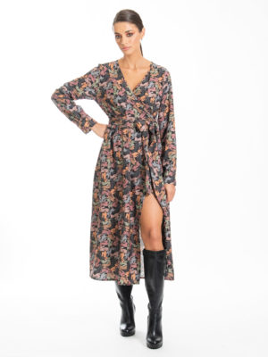 Chaton Bunnie Wrap Dress