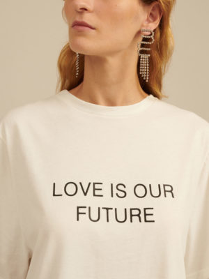 Milkwhite Love is our Future T–Shirt