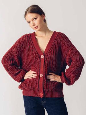 Skfk Adane Sweater Bordeaux