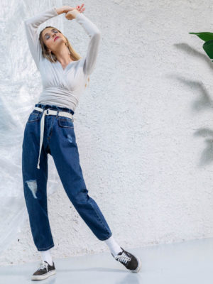 The KNLs Blouch Jeans Blue
