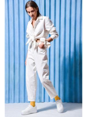 Arpyes Topaz Shirt White Jeans