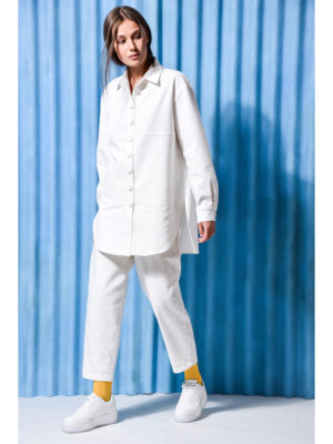 Arpyes Topaz Shirt White Jeans