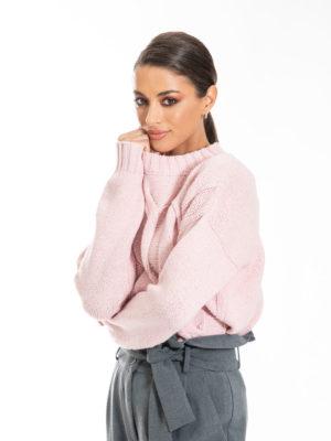 Chaton Anna Knit Sweater Pink