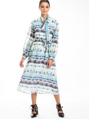 Chaton Nordic Midi Dress