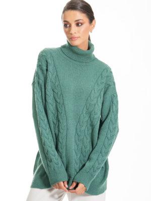 Chaton Olsen Knit Sweater Green