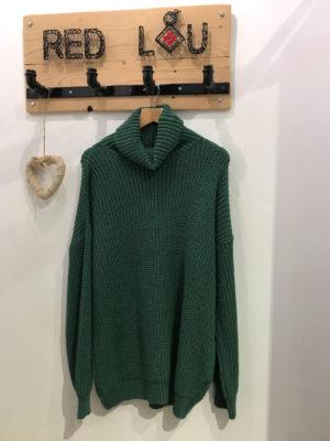 Chaton Sven Knit Sweater Green