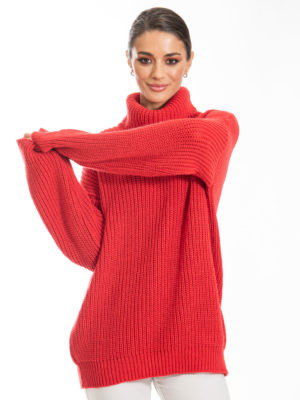 Chaton Sven Knit Sweater Red