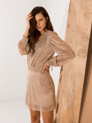 Clementine Long Sleeve Mini Dress