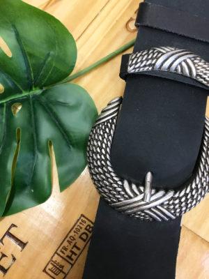 Individual Bound Belt Black