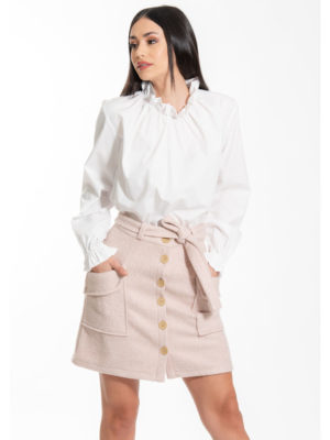 Chaton Bianca Skirt Pink