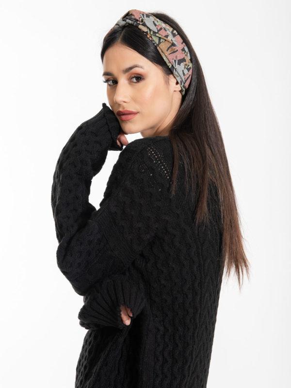 Chaton Elsa Knit Sweater Black