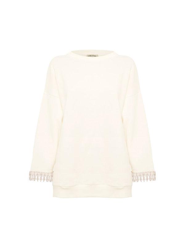 Milkwhite-Sweatshirt-with-Crystalls-White-1