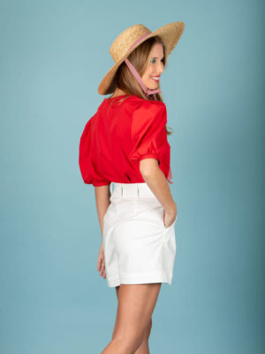 Chaton Andrea Shirt Red