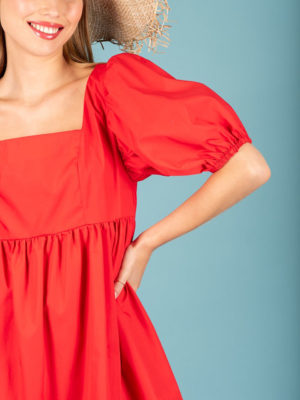 Chaton Luna Dress Red