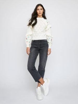 Glamorous Floral Knit