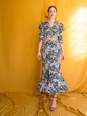 Ananke Brenda Button Skirt