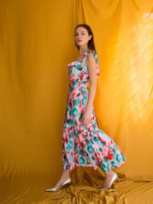 Ananke Wendy Ruffled Dress