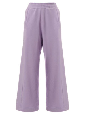 Arpyes Cropped Flare Sweatpants Lilac