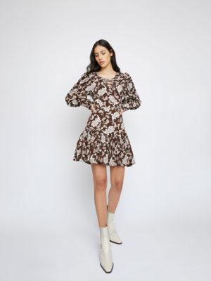 Glamorous Brown Short Dress