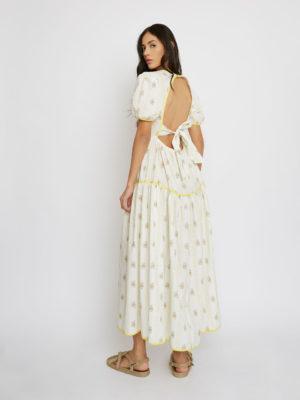 Glamorous Open Back Dress