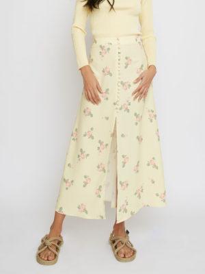 Glamorous Yellow Skirt