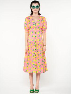We_are Lemons Midi Dress